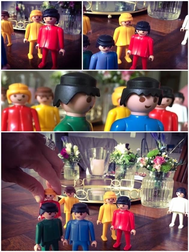 Systemische Aufstellung mit Playmobilfiguren